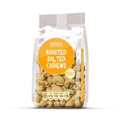 Roasted and Salted Cashews