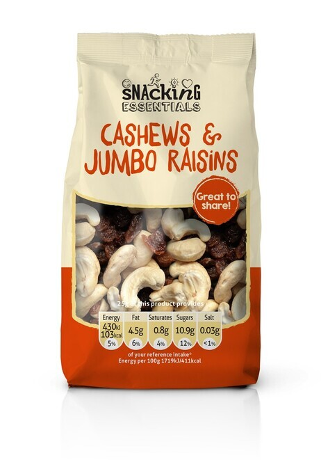 Cashew and Jumbo Raisins