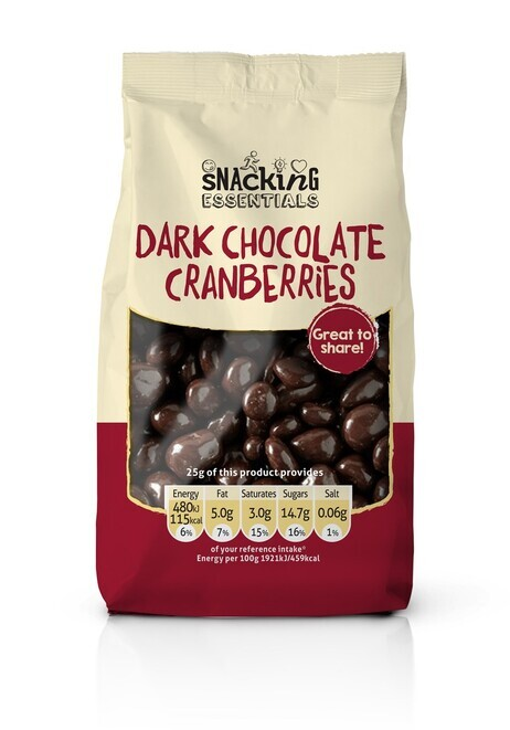 Dark Chocolate Cranberries