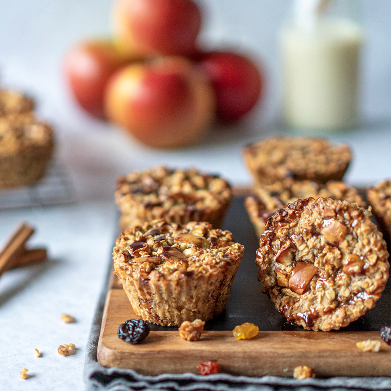 Apple Berry Muffins